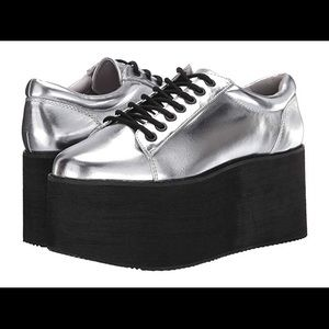 NEW! Acid Rock Silver Platforms by Rocket Dog